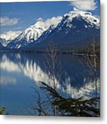 Time For Reflection Metal Print by Fran Riley