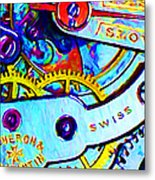 Time In Abstract 20130605 Metal Print by Wingsdomain Art and Photography