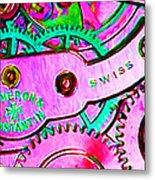 Time In Abstract 20130605p108 Long Metal Print by Wingsdomain Art and Photography