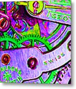 Time In Abstract 20130605p72 Metal Print by Wingsdomain Art and Photography