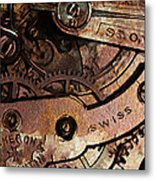 Time In Abstract 20130605rust Metal Print by Wingsdomain Art and Photography