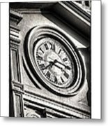 Time In Black And White Metal Print by Brenda Bryant