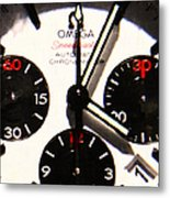 Time Piece - 5d20658 Metal Print by Wingsdomain Art and Photography