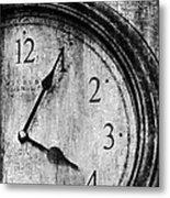 Time Metal Print by Sheena Pike