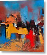 Time To Time Metal Print by Elise Palmigiani