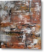Timeless - Abstract Painting Metal Print by Ismeta Gruenwald