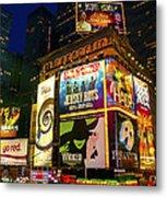Times Square Metal Print by Svetlana Sewell