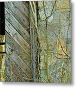 Tn Door 1 Metal Print by Jeffrey J Nagy