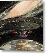 To Boldly Go... Metal Print by Tim Loughner