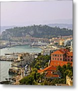 To Catch A Thief - Nice France Metal Print by Christine Till