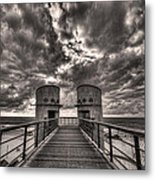 To The Bridge Metal Print by Ron Shoshani