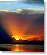 Today Is Forever Lost Tomorrow Metal Print by Karen Wiles