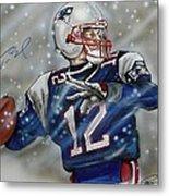 Tom Brady Metal Print by Dave Olsen