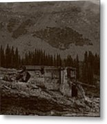 Tomboy Ghost Town I Metal Print by Daniel Woodrum