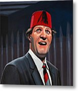 Tommy Cooper Metal Print by Paul Meijering