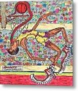 Tongue Jam Metal Print by Richard Hockett
