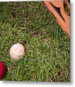Tools Of The Game  Metal Print by Tom Gari Gallery-Three-Photography