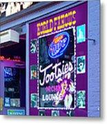 Tootsies Nashville Metal Print by Brian Jannsen