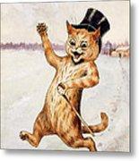 Top Cat Metal Print by Louis Wain
