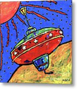 Top In Space Metal Print by Dale Moses
