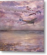 Topsail Flyers Metal Print by Betsy Knapp