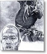 Torry Holt Metal Print by Jonathan Tooley