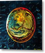 Tossed In The Baltic Sea Metal Print by Robin Moline