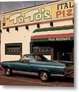 Toto Metal Print by Andrea Aycock