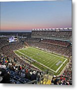 Touchdown New England Patriots  Metal Print by Juergen Roth