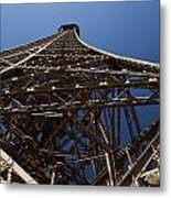 Tour Eiffel 7 Metal Print by Art Ferrier