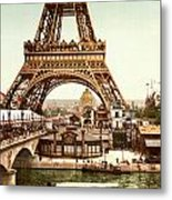 Tour Eiffel And Exposition Universelle Paris Metal Print by Georgia Fowler