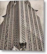 Towering Bw Metal Print by JC Findley