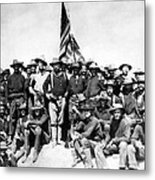 Tr And The Rough Riders Metal Print by War Is Hell Store
