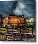 Train - Let's Go For A Spin Metal Print by Mike Savad