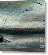 Tranquil Sea Metal Print by R Kyllo