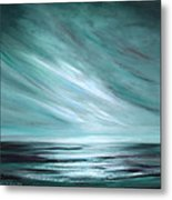 Tranquility Sunset Metal Print by Gina De Gorna