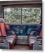 Trans Siberian Express Metal Print by Trever Miller