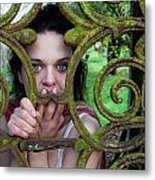 Trapped Metal Print by Semmick Photo