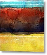 Traveling North Metal Print by Linda Woods