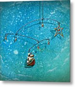 Treasure Hunter Metal Print by Cindy Thornton