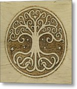 Tree Of Life Metal Print by Jason Gianfriddo