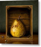 Tribute To Magritte Metal Print by Bob Nolin