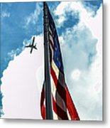 Tribute To The Day America Stood Still Metal Print by Rene Triay Photography
