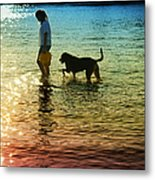 Tripping The Light Fantastic Metal Print by Laura Fasulo