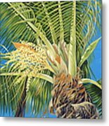 Tropical Bloom Metal Print by Danielle  Perry