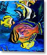 Tropical Fish Metal Print by Karon Melillo DeVega