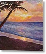 Tropical Interlude Metal Print by Eve  Wheeler