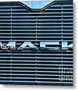 Truck - The Mack Grill Metal Print by Paul Ward