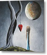 Trust Your Instincts By Shawna Erback Metal Print by Shawna Erback