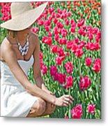 Tulip Beauty Metal Print by Maria Dryfhout